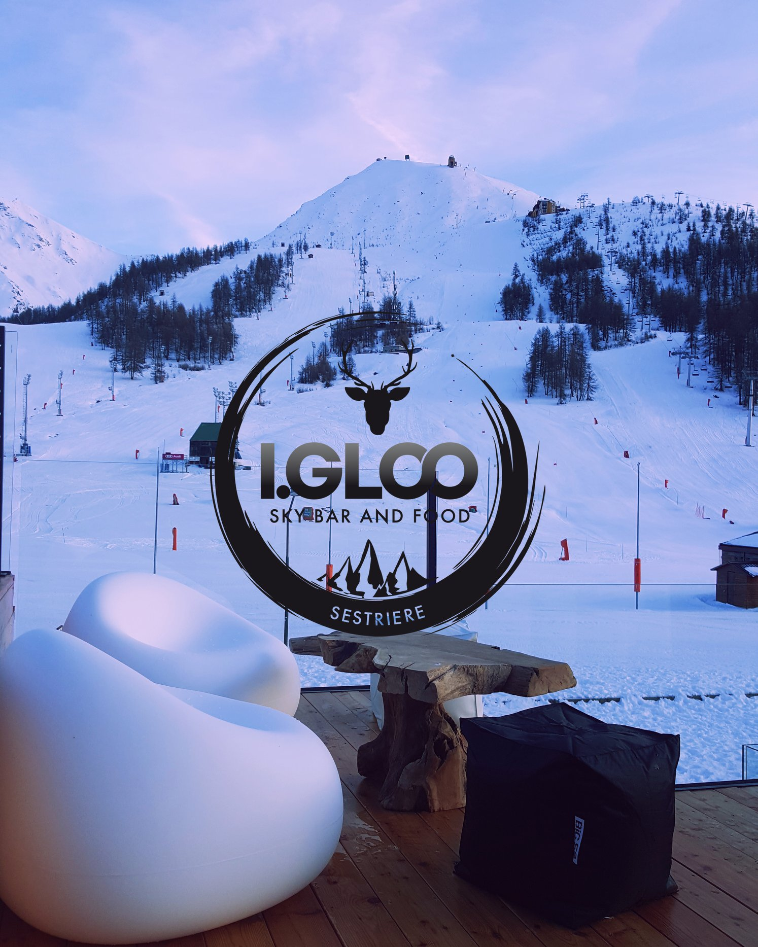 Igloo sky bar Sestriere